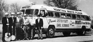 The Foggy Mountain Boys In Front Of Their Martha White