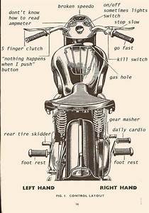 The Most Dangerous Part Of A Motorcycle Is The Nut Between