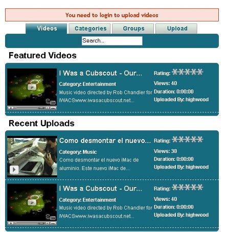 Como Subir Mi Template En by Tu Propio Youtube En Joomla Codigo Geek