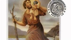 Saint Christophe Patron : st christopher patron saint prayer card w medal youtube ~ Medecine-chirurgie-esthetiques.com Avis de Voitures