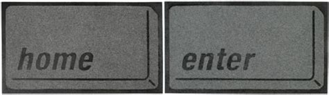 Enter Key Doormat by Home And Enter Doormats Neatorama