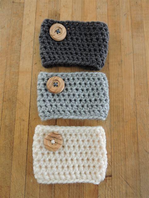 Crochet Coffee Cozy Pattern Allfreecrochetcom