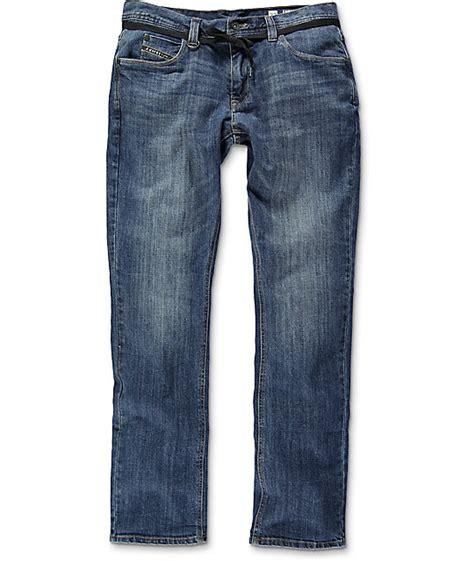 Empyre Sledgehammer Regular Fit Coastal Blue Jeans | Zumiez