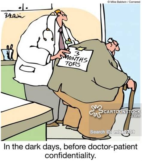 Doctor-patient Confidentiality Cartoons and Comics - funny