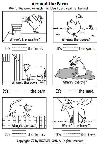 17 best images about preposition worksheet printables nu