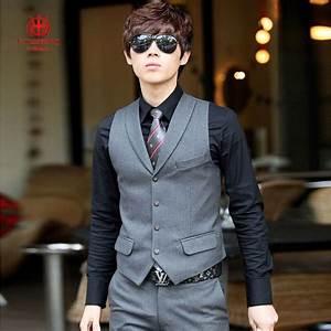 men39s clothing business casual vest suit vest male spring With mens dress vests wedding