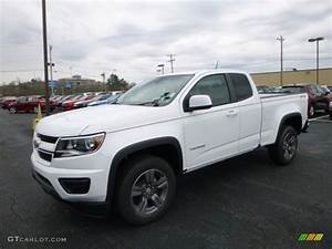 2017 Summit White Chevrolet Colorado WT Extended Cab 4x4 ...