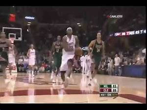 Lebron James FREE THROW LINE DUNK (In Game, High Quality ...