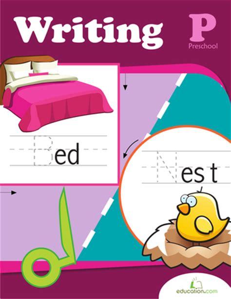 preschool writing workbook education 118 | preschool writing workbook preview 0