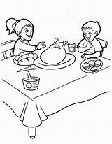 Coloring Thanksgiving Pages Feast Wendy Pan Peter Gracias Disney Library Clipart Latest Accion Printables sketch template
