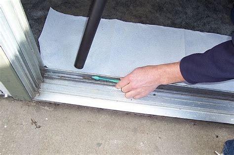 sliding glass door repairs repair all things how to repair sliding glass door rollers