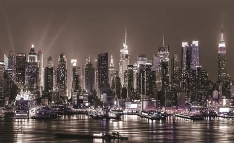 city skyline wallpaper murals wallpapersafari