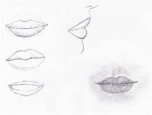 Learning How to Draw: Mouths | Paige Mitchell's Blog