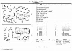 2005 Jeep Grand Cherokee Parts List