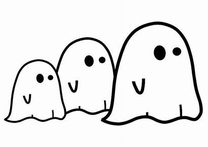 Coloring Ghost Ghosts Pages Printable