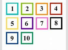 numbers 110 preschool printables fun – Learning Printable