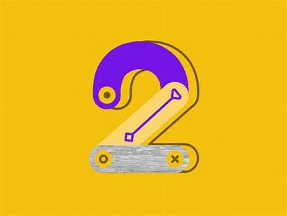 Number Days Project Dribbble Numbers Icon 36daysoftype