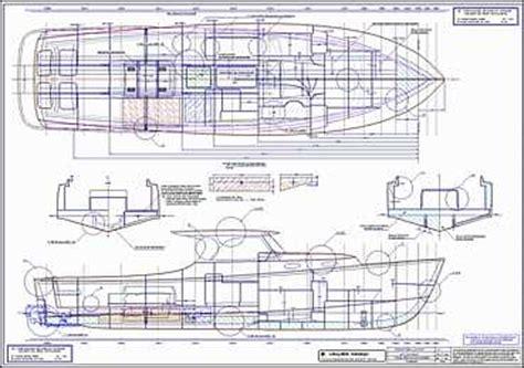 Catamaran Technical Drawing by Lidgard Yacht Design