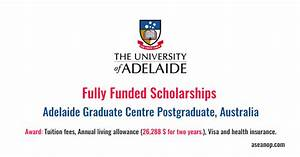 Adelaide Graduate Centre Postgraduate Research ...