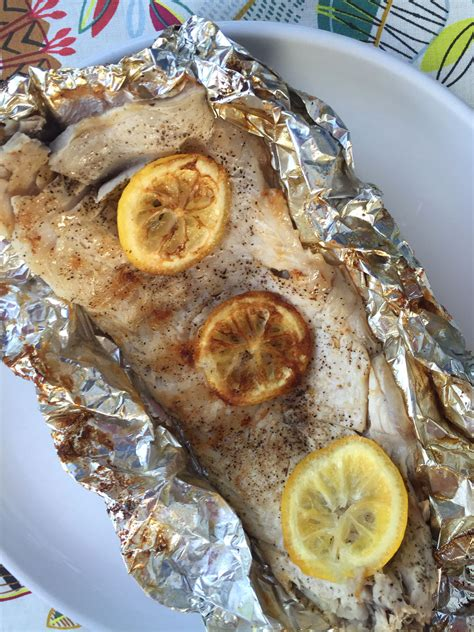foil grouper grill cook fish recipe grilled packets butter lemon
