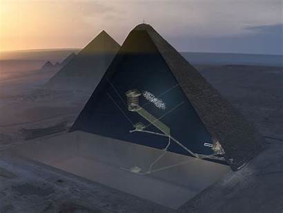 Pyramid Inside Egypt Plane Void Hidden Giza