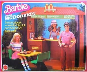 MATTEL: 1982 Barbie Loves McDonalds Playset | Vintage ...