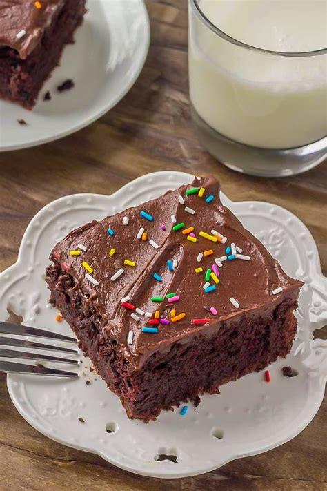 sour cream chocolate cake recipe lil luna