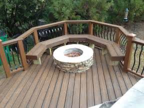 Bench Swing Fire Pit by Can You Place A Fire Pit On A Deck Archadeck Of Charlotte