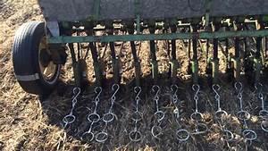 John Deere B Seed Drill Field Test