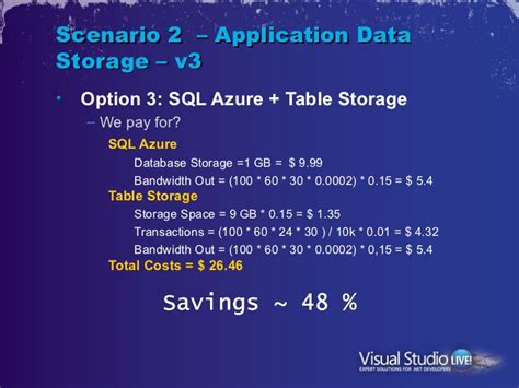 azure table storage pricing tips tricks on architecting windows azure for costs