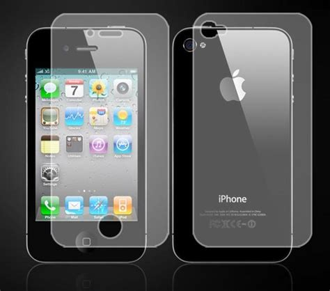 iphone 4s screen iphone 4 or iphone 4s screen protector with anti glare