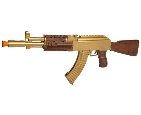 m518 gold ak 47 fps 250 airsoft rifle