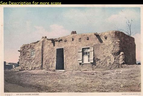 Native American Adobe Houses