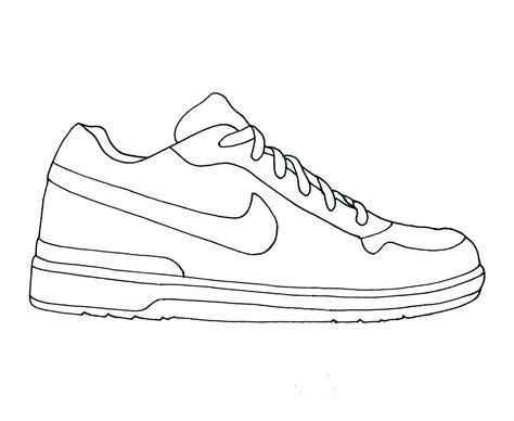 Coloring Pages Of Shoes - Democraciaejustica