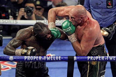 Tyson fury's gloves 'didn't look right', says heavyweight charles martin as he launches bizarre claim that footage is from first deontay wilder fight Deontay Wilder accuses Tyson Fury of CHEATING with weight in his glove in last fight as American ...