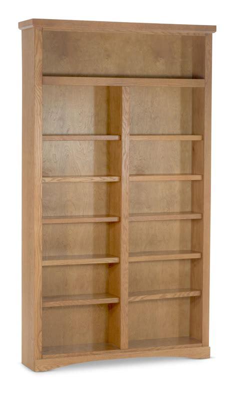 wide traditional oak bookcase  direct hom furniture