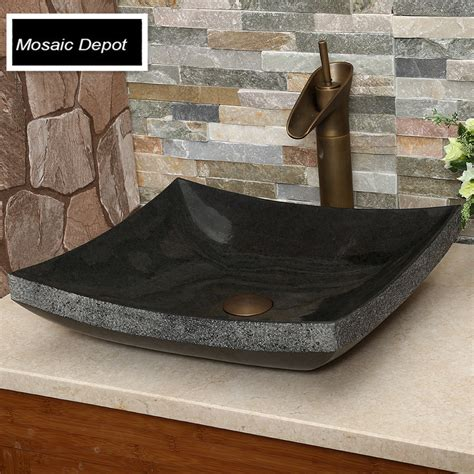 stone vessel sinks cheap online get cheap granite vessel sinks aliexpress com