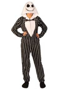 Nightmare Before Christmas Footed Pajamas