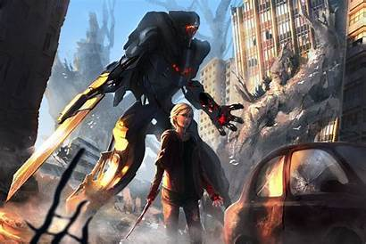 Mecha Deviantart Robots Robot Fantasy Sci Fi