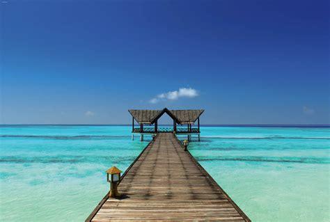 chambre avec ile de poster mural plage de rêve polynésie à bora bora