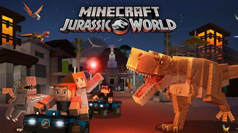 Become Park Manager In The New Jurassic World Minecraft
