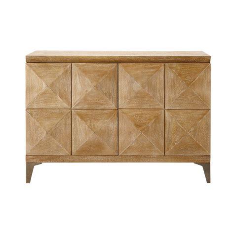 Mango Wood Sideboard by Mango Wood Sideboard W 102cm Octo Maisons Du Monde