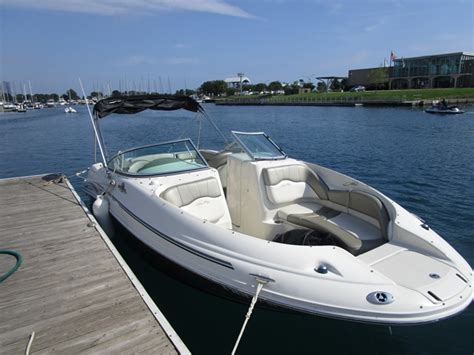 Used Sea Ray Boats For Sale In Illinois by Used Deck Boat Boats For Sale In Illinois United States