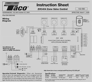 Limited Taco 571 Zone Valve Wiring Diagram Amazing Of Taco 571 2 Wiring Diagram Simple For Zone