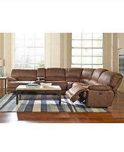 jedd fabric 6 piece power reclining sectional sofa 2 With fabric sectional sofa with power recliner