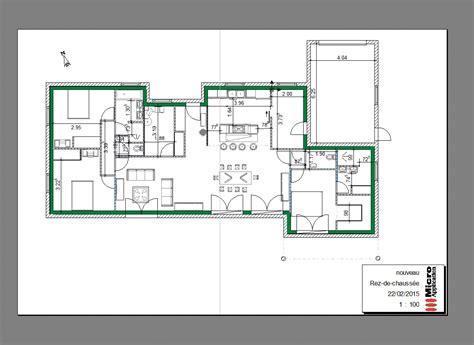 maison plain pied 5 chambres plan de maison 5 chambres plain pied gratuit incroyable