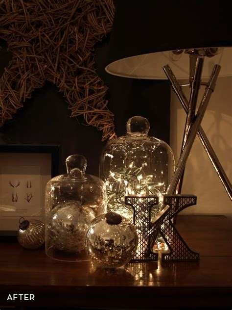 bell jars cloches teeny lightsperfect sparkle home decor fairy lights fairy lights   jar