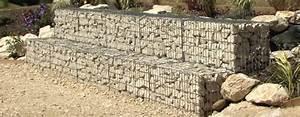 Fundament Für Mauer Berechnen : rund um gabionen selber bauen montage ~ Markanthonyermac.com Haus und Dekorationen