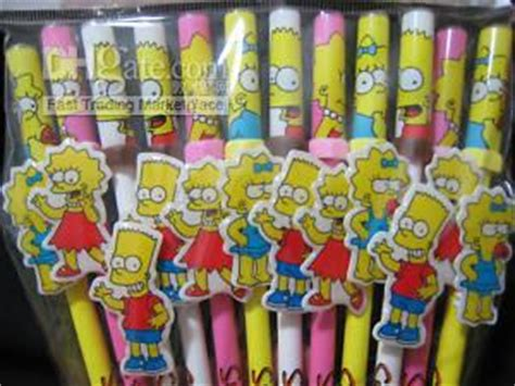 foto de 2017 Kids Party Favors The Simpsons Ballpoint Pen From