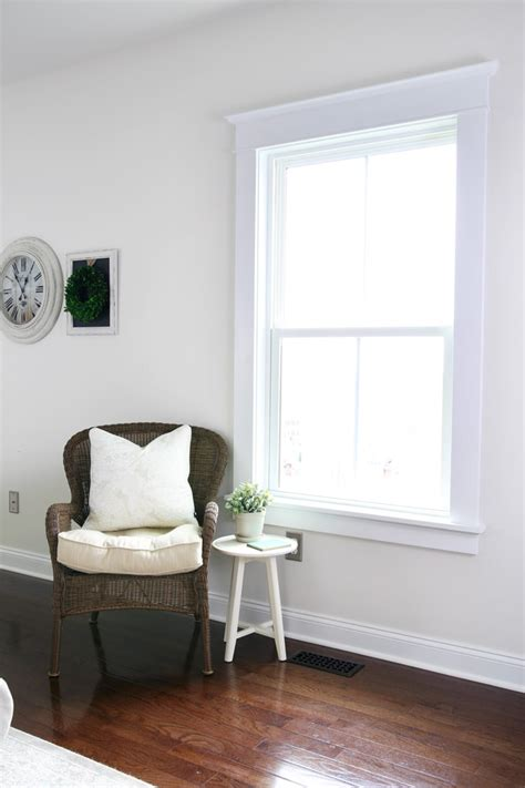 Living Room Window Trim Ideas by How To Install Craftsman Style Interior Window Trim Abby